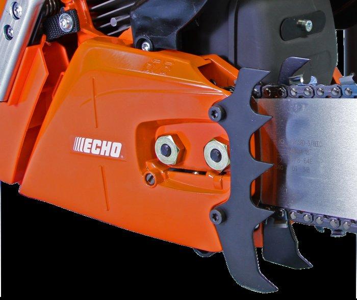 Magnesium Kettenraddeckel -  Der Kettenraddeckel aus Magnesium macht die Säge besonders robust.