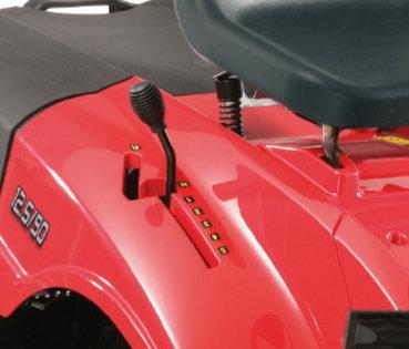 Schaltgetriebe mit 5 Fahrstufen und Rückwärtsgang