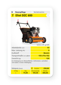 Mieten Kombigeräte: Eliet - DZC 600 (mieten)