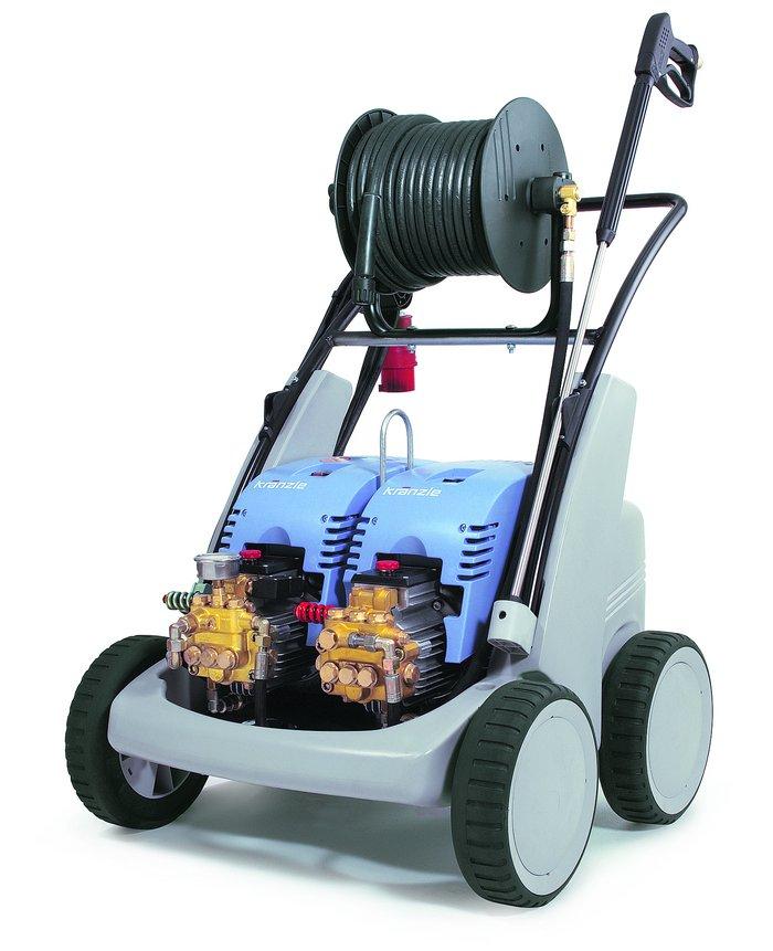 Kaltwasser-Hochdruckreiniger:                     Kränzle - D 26/250 TS T
