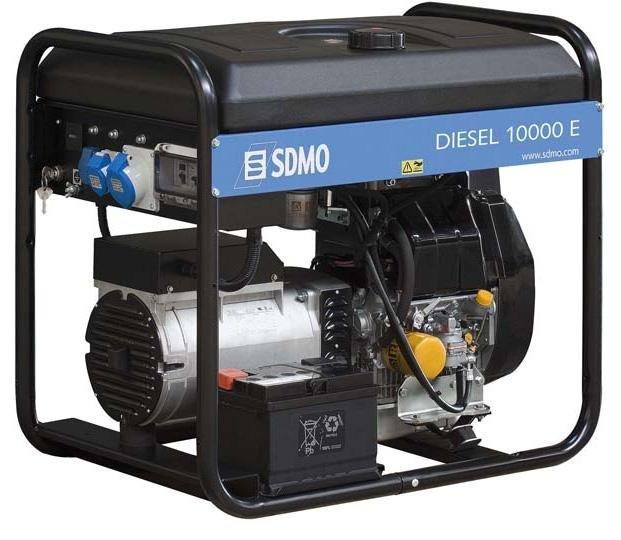 Stromerzeuger:                     SDMO - Diesel 10000 E XL C