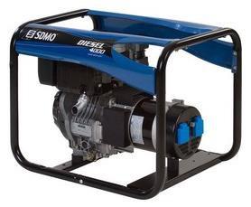 Stromerzeuger:                     SDMO - Diesel 4000 C