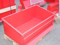 Zubehör: Siekmann - Dreipunkt-Transportbehälter kippbar
