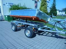 Dreiseitenkipper: Anhänger - Dreiseitenkipper für Kleintraktoren