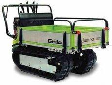 Allzwecktransporter: Grillo - PK 1400 inkl. V Schild 182 und Streuer