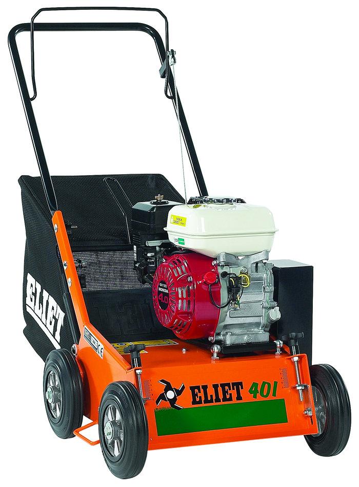 Vertikutierer:                     Eliet - E401 4,0 PS Honda GX120