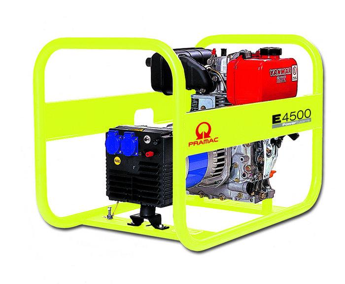 Stromerzeuger:                     Pramac - E4500-SHI