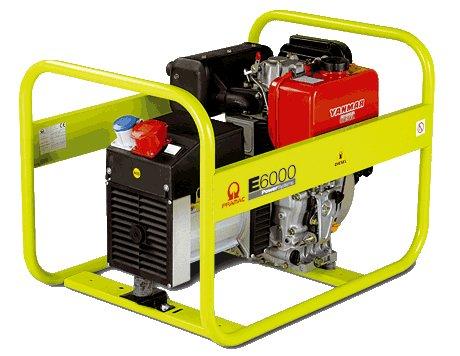 Stromerzeuger:                     Pramac - E6500-SHI