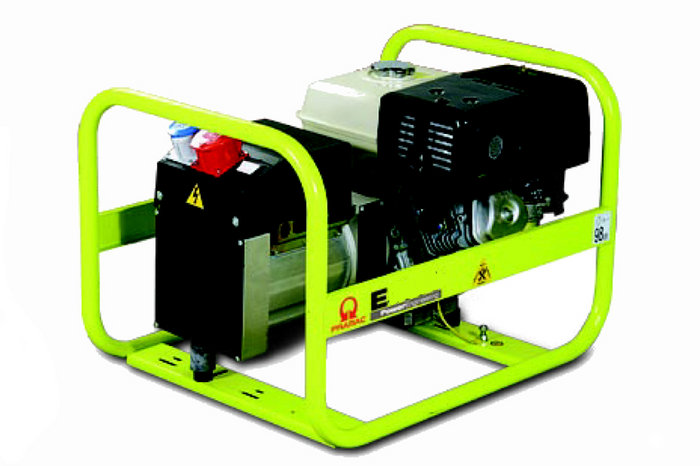 Stromerzeuger:                     Pramac - E8000-THI (230V/400V)