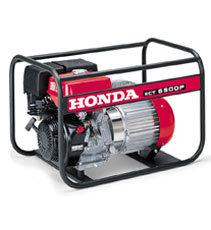 Stromerzeuger:                     Honda - ECT 7000 P