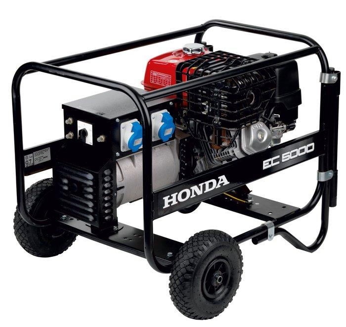Angebote                                          Stromerzeuger:                     Honda - EC 5000 (Empfehlung!)