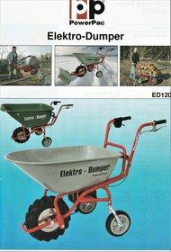 Angebote  Allzwecktransporter: Elektro -Dumper-Accu 24Volt - ED120 Elektro-Dumper (Aktionsangebot!)
