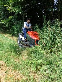 """Gebrauchte  Gartentraktoren: Husqvarna - TS 243T - """"AGRASSIC"""" Hochgras-Traktor mit XXTra-VORTEIL Ausstellungs-Neumaschine & NICHT (gebraucht)"""