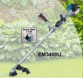 Motorsensen:                     Makita - EM3400U