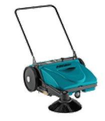 Kehrmaschinen: agria - agria 7100 Cleanstar comfort (feine Borsten, Preis ohne Triebräder)