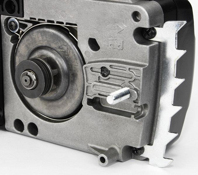 Geschraubte Metall-Zackenleiste für wirkungsvolle Kraftumlenkung und kräfteschonendes Arbeiten