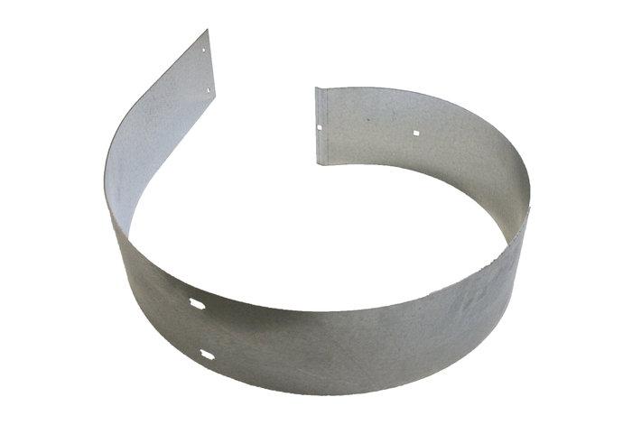 Prallblech -  Das Prallblech dient als doppelter Gehäuseboden gegen groben Abfall, Sand und Steinschlag und ist austauschbar.