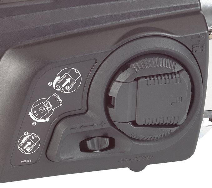 Werkzeugloser Kettenspanner (TLC)