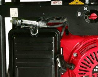 Leichter Zugang zum Reinigen und Wechseln des Luftfilters.