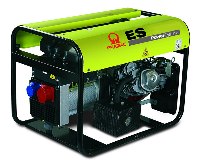 Stromerzeuger:                     Pramac - ES5000 PE532THI (230V/400V)
