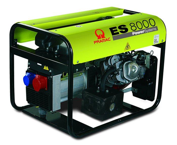 Stromerzeuger:                     Pramac - ES8000 PE652THI (230V/400V)