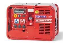 Stromerzeuger:                     Endress - ESE 1006 DBG ES Duplex (400 V)