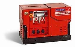 Stromerzeuger:                     Endress - ESE 1308 DBG ES Duplex Silent (230V)