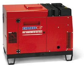 Stromerzeuger:                     Endress - ESE 1308 DHS ES Silent (400V)