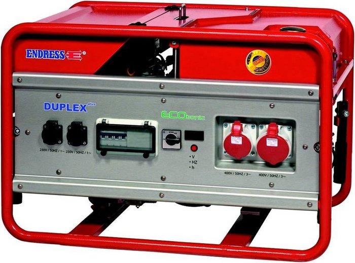 Stromerzeuger:                     Endress - ESE 1506 DSG-GT ES DUPLEX  (400 V)