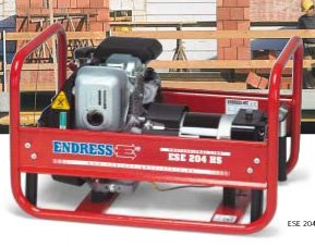 Stromerzeuger:                     Endress - ESE 204 HS