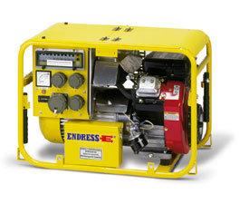 Stromerzeuger:                     Endress - ESE 604 DBG ES FS DIN (230 V)