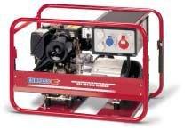 Stromerzeuger:                     Endress - ESE 604 DHG ES Diesel Duplex (400 V)