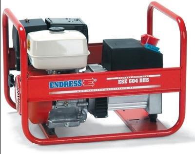 Stromerzeuger:                     Endress - ESE 604 DHS (230 V)