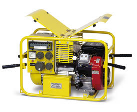 Stromerzeuger:                     Endress - ESE 804 DBG DIN (230 V)