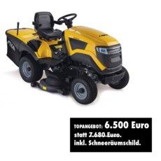 Rasentraktoren: Stiga - ESTATE PRO 9102 XWS inkl. Schneeräumschild