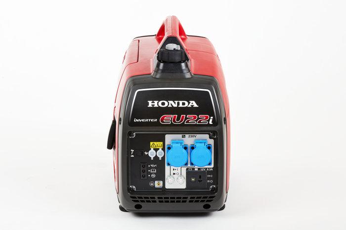 Alle Handy-Stromerzeuger von Honda verfügen über Ölmangel-Schutz™ und Ökoschaltung™.