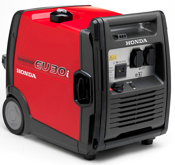 Mieten                                          Stromerzeuger:                     Honda - EU 30i (mieten)