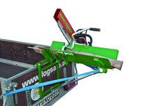 Für Motorsägen: LOGSAFE - Ecocut - Sägebock für die Hängerbordwand