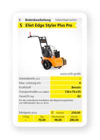 Mieten  Kantenschneider: Eliet - Edge Styler Plus Pro (mieten)
