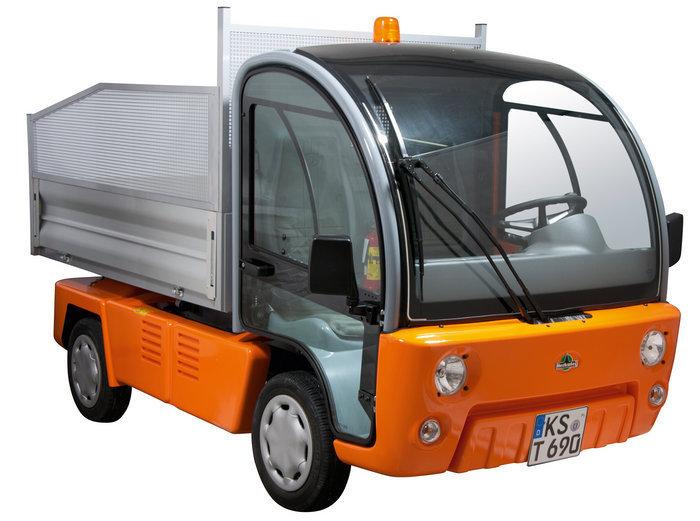 Angebote                                          Elektrofahrzeuge:                     Herkules - Elektro Allzweckkipper EPV+ (gebraucht, Aktionsangebot!)