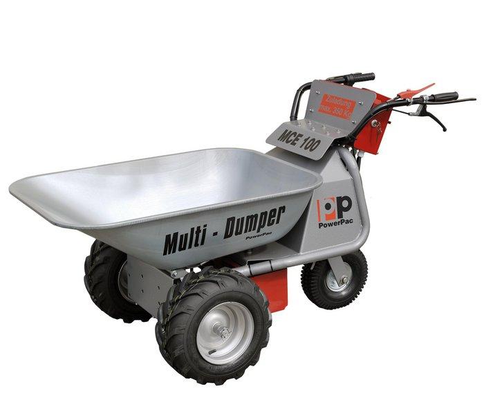 Gartentechnik:                     PowerPac - Elektroschubkarre Dumper Multi-Dumper elektro MCE100