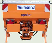 Streutechnik: EPOKE - Epoke Winterdienstausrüstung