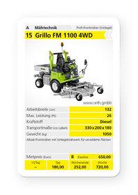 Mieten  Geländemäher: Grillo - FM 1100 4WD (mieten)