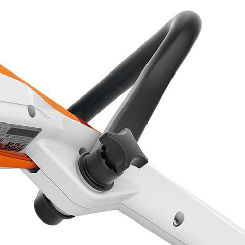 Kompakt und ergonomisch  Durch die integrierten Akkuzellen ist das Gerät sowohl im Seiten- als auch Kopfschnitt optimal ausbalanciert. Die FSA liegt somit besonders gut in den Händen. Die schlanke Bauform schafft einen hohen Bewegungsfreiraum.
