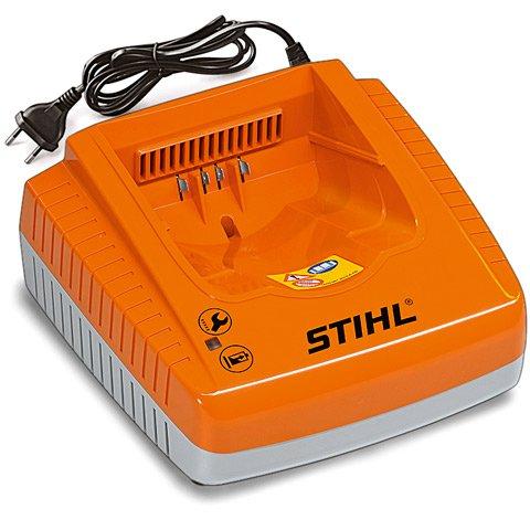 Ladegerät AL 100  Standardladegerät für STIHL Akkus AP 80, AP 120 und AP 160. Mit Betriebszustandsanzeige.