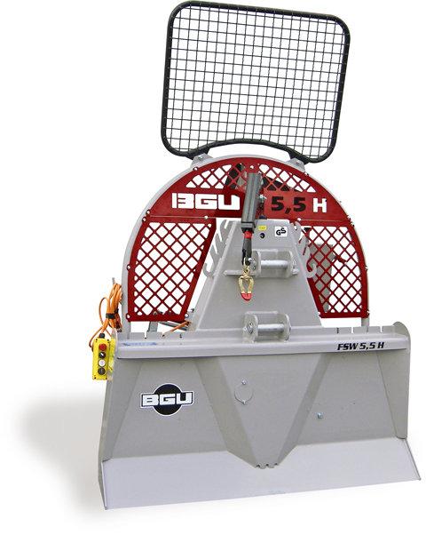 Seilwinden:                     BGU - FSW 5,5 H