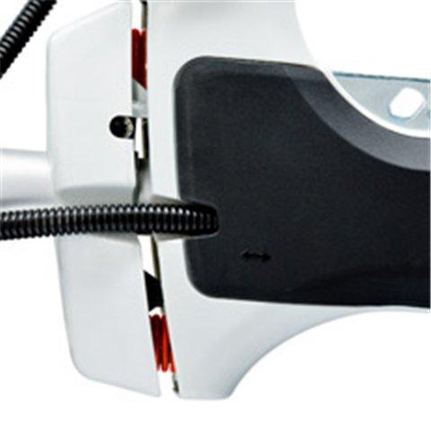 4-Punkt-Antivibrationssystem  Bei den neuen STIHL Freischneidern reduzieren Stahlfedern als Antivibrationselemente die Übertragung von Schwingungen, die durch Motor und rotierendes Schneidwerkzeug entstehen. Die Griffe sind dadurch äußerst vibrationsarm und die Geräte lassen sich gut führen. (Abb. ähnlich)