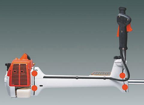 Getriebewinkel 25°  Bei den neuen STIHL Freischneidern in Kurzschaftausführung sorgt ein neuer Getriebewinkel mit 25° für noch mehr Komfort bei Sägeeinsätzen.
