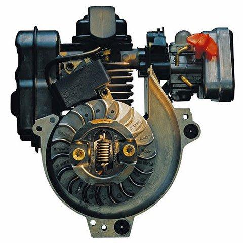 4-MIX-Motor  Kombiniert die Vorteile aus 2-Takt- und 4-Takt-Motor. Weniger Abgase, kein Ölservice nötig, angenehmes Klangbild. Excellente Durchzugskraft und hohes Drehmoment. (Abb. ähnlich)