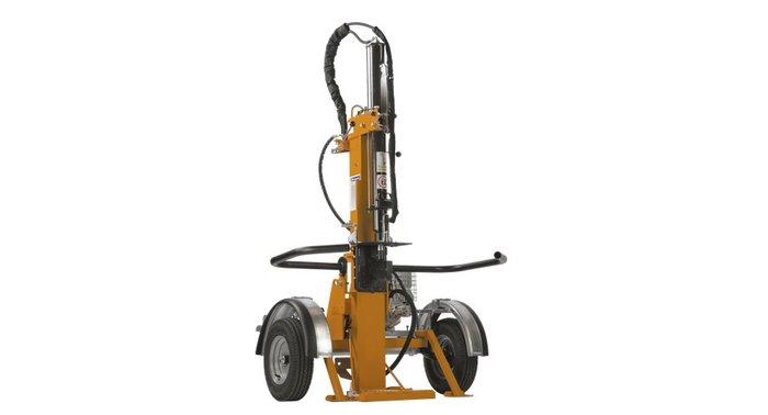 Holzspalter, der sowohl vertikal als auch horizontal betrieben werden kann. Eignet sich hervorragend für mobile, individuelle Spalteinsätze, da er mit einem Fahrgestell ausgestattet ist und zum Fahren auf öffentlichen Strassen zugelassen werden kann. Dieses Modell wird mit einem 4-Takt Benzinmotor angetrieben und ermöglicht so Spalteinsätze unabhängig von einer Stromquelle. Mit der hohen Spaltleistung von 13 t können Holzstücke vertikal bis 107 cm und horizontal bis 67 cm Länge gespalten werden. Besitzt zwei Spaltgeschwindigkeiten - 7.5 cm/s im 1. Gang und 23 cm/s im 2. Gang. Doppelpumpe für hohe Leistung und hohe Spaltgeschwindigkeit sowie absenkbarer Zylinder für einfaches Transportieren und Aufbewahren zeichnen dieses Modell weiter aus. Das umfangreiche Zubehörangebot erhöht die Vielseitigkeit dieser Maschine.